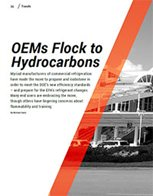 OEMS FLOCK TO HYDROCARBONS